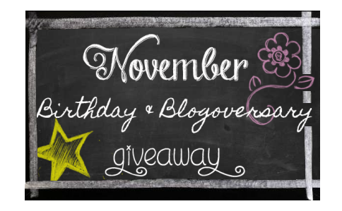November Giveaway Bloghop